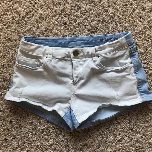 Blank NYC Pants - Blank NYC two toned shorts